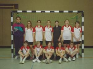 weibliche A-Jugend Frauen um 1995